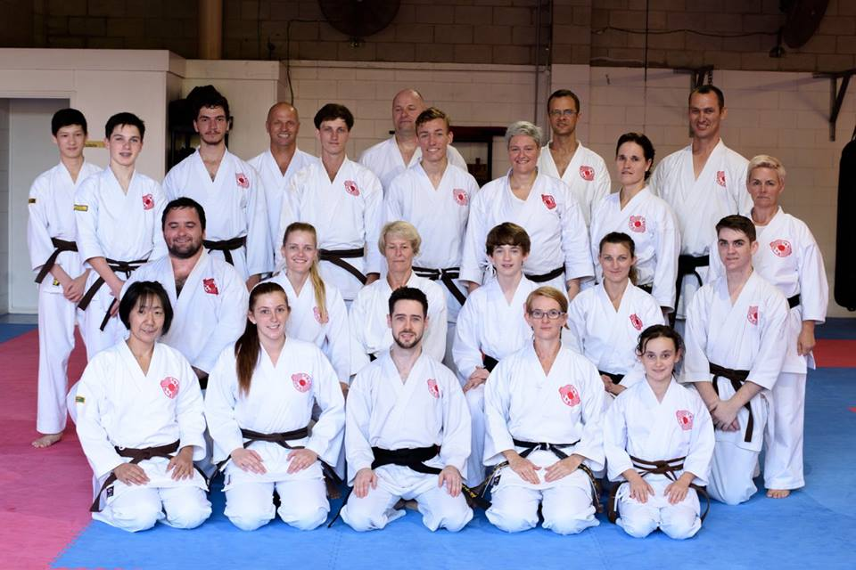 2018 QLD Chito-Ryu Senior Training Weekend