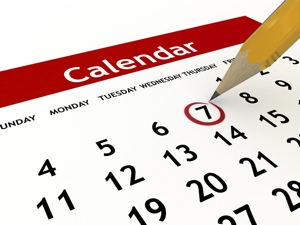 Calendar of Events – Term 4 2014
