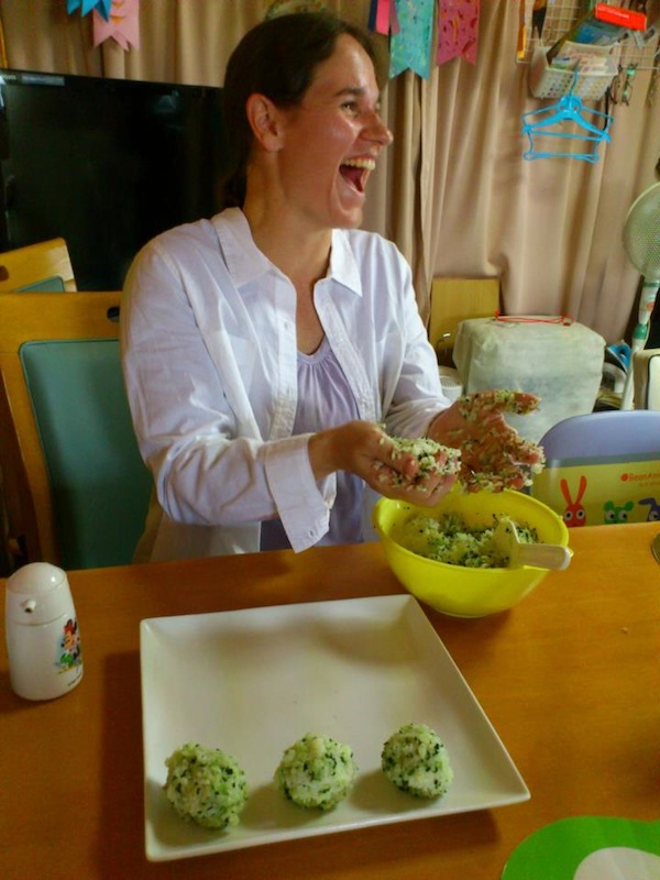 A Rice Ball Moment